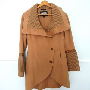 Mackage camel Tessa wool coat like new small